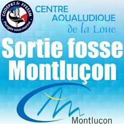 Sortie fosse APNEE Montluçon - Dimanche 3 Fevrier 15H à 17H