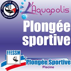Plongée sportive en piscine - Mercredi 12 février 2020