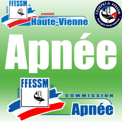 Stage Initial Initiateur APNEE Limoges - Samedi 13 & Dimanche 14 Janvier 2018