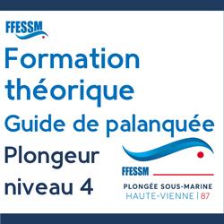 Formation théorique gratuite - Guide de Palanquée - Plongeur niveau 4