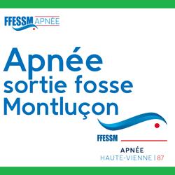 Sortie fosse APNEE Montluçon - Dimanche 08 mars 2020 15H à 17H