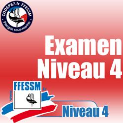 Examen théorique Niveau 4 - Dimanche 25 Mars 2018