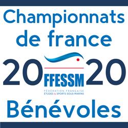 Championnats de France des sports subaquatiques 2020 à Limoges 8 au 10 Mai 2020