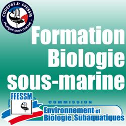 Formation Biologie sous-marine - Plongeur Bio 1 et plus