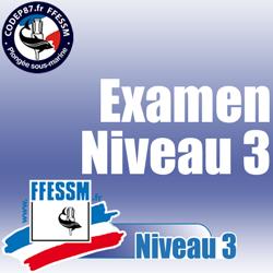 Examen théorique N3 - Mercredi 28 Mars 2018 à 20H