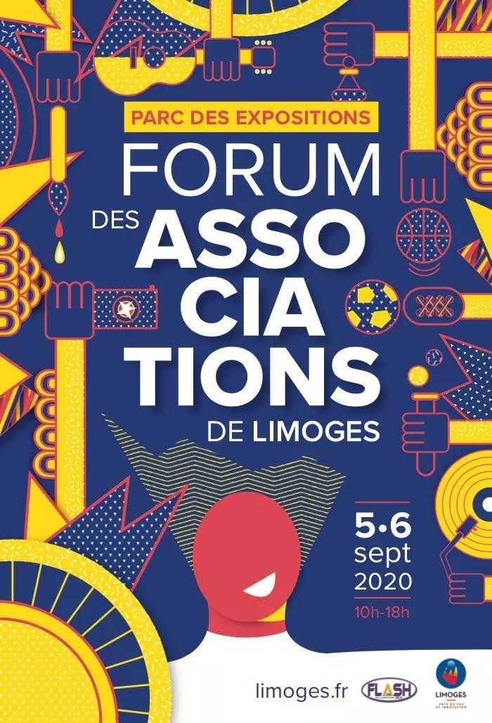 Forum des associations Ville de Limoges 2020 - FFESSM CODEP 87
