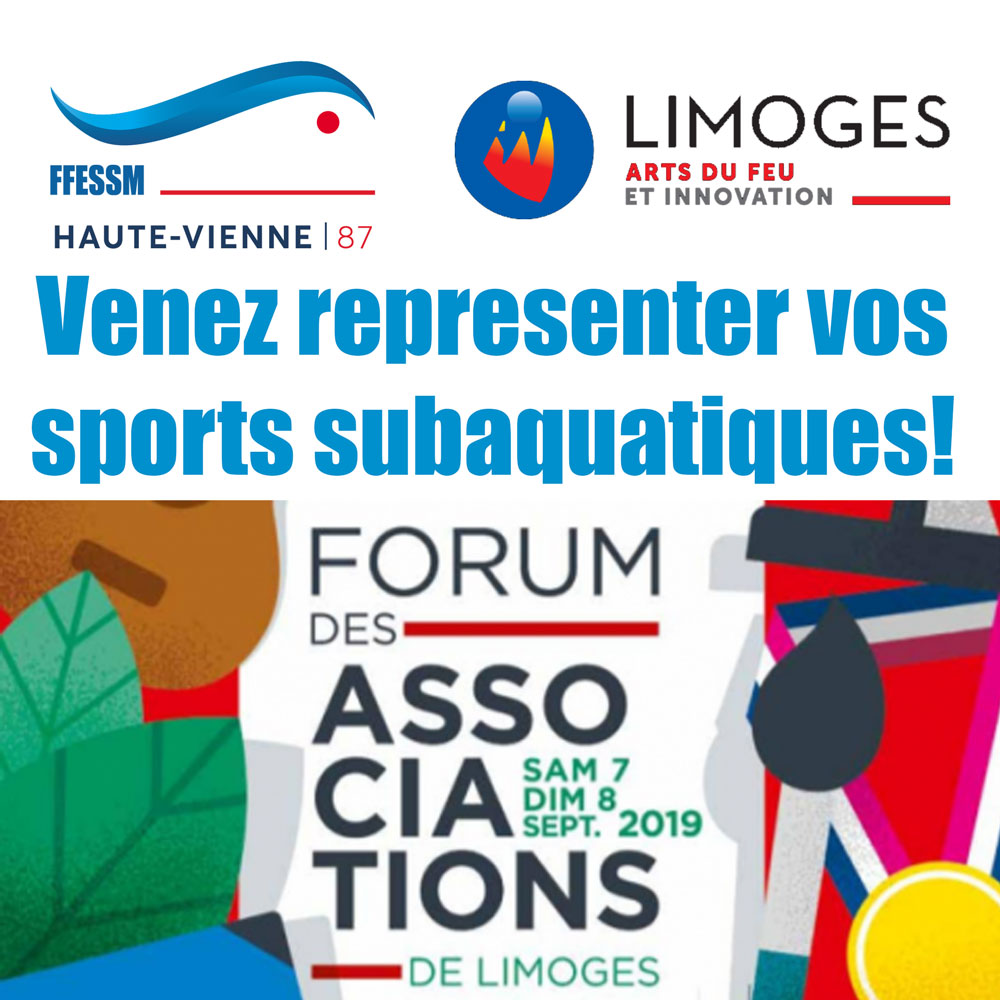 2019 09 08 Forum des associations ville de Limoges CODEP87