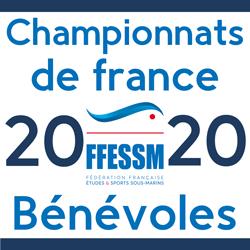 Inscription championnats de France des sports subaquatiques 2020